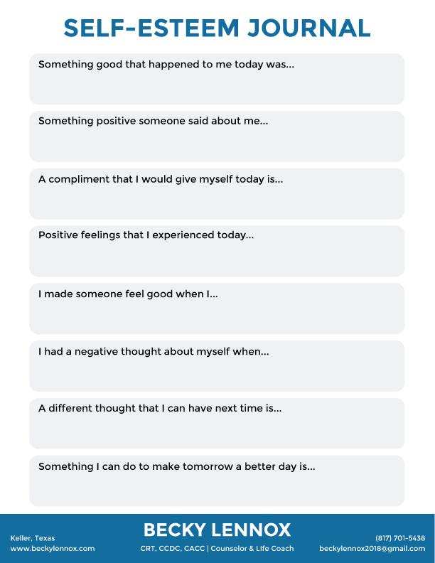 Becky-Self-Esteem-Journal